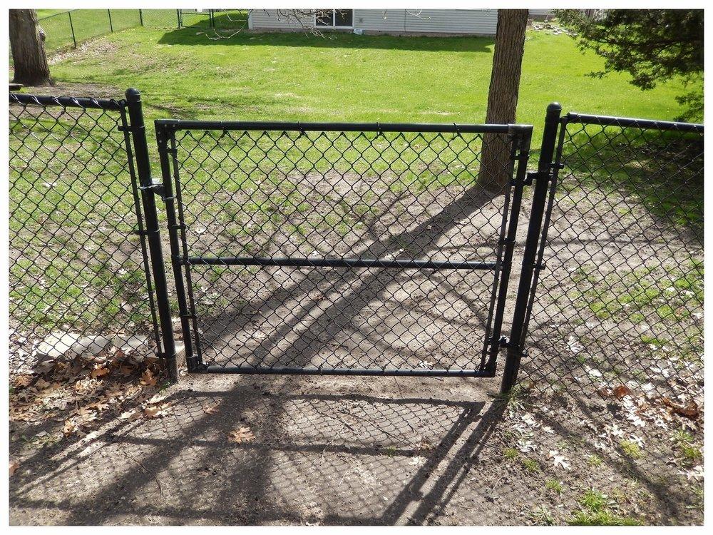 5' Wide Welded Frame Walk Gate