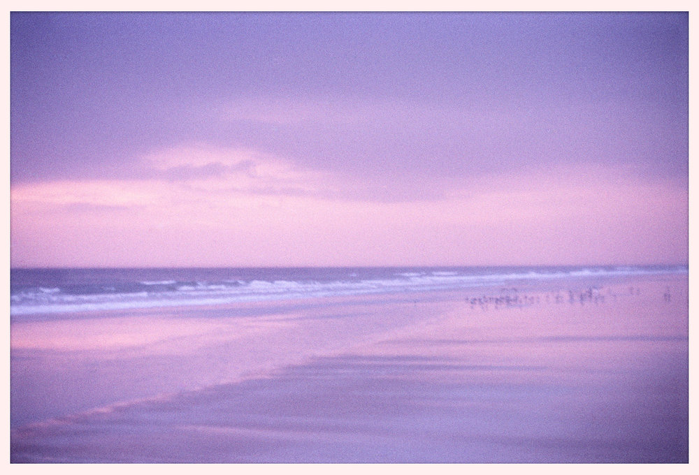 Sunrise in Daytona Beach, Florida. © 2001.    (Click any photo to enlarge it in a lightbox.)