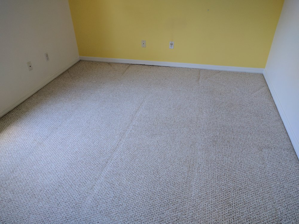 After Steam Extraction and Sanitize - Customer was extremely relieved to not have to add the carpets to the renovation budget.