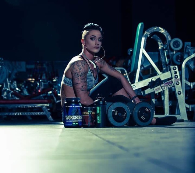 - Black Sheep Supplements Athlete Kristina Hendershott