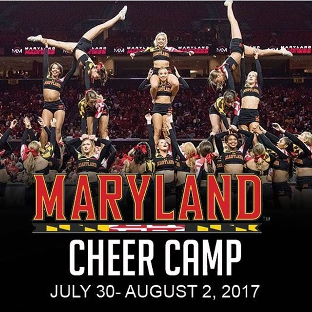 Will we see you this summer? Maryland Cheer camp presented by @edgecheerdance is coming! 🐢