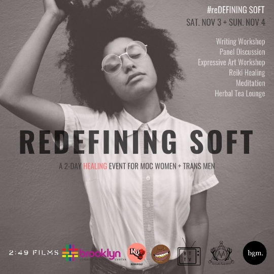 #BGM is giving 13 need-based scholarships to the MOC community for #redefiningsoft event! Donate to the fund below!