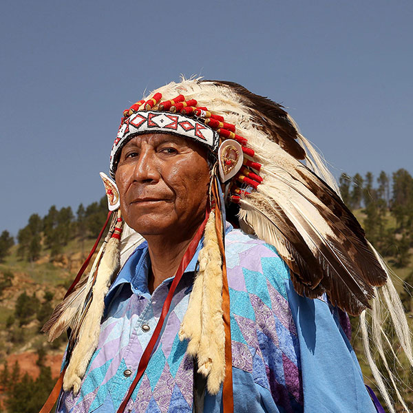 LAKOTA SIOUX FROM USA