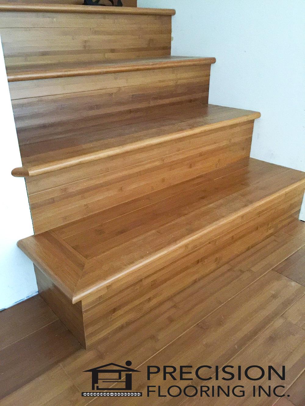 Bamboo Custom Stairs