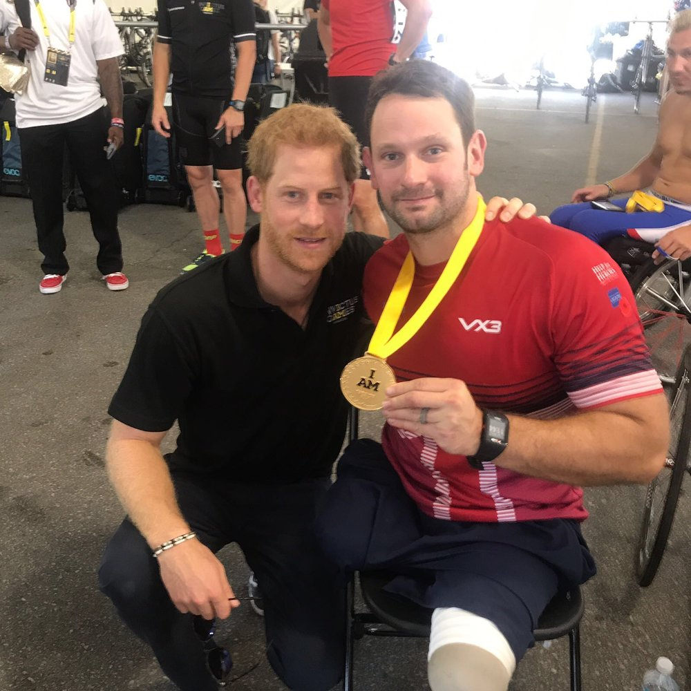 Prince Harry is the man behind the Invictus Games and has changed the lives of so many.
