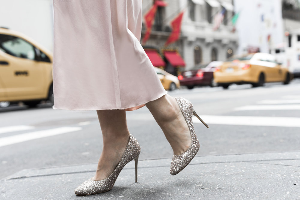 Mild Bling at 20%  - 'Tis the season to wear sparkly heels