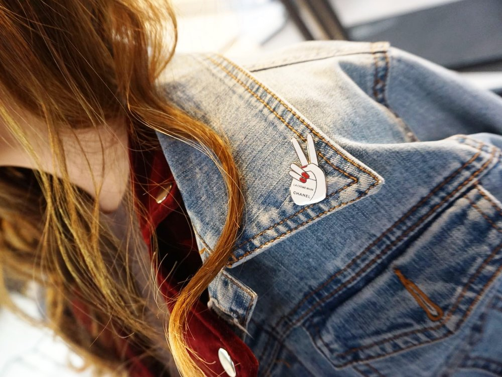 Use promo code VALENTINE to get this exclusive pin! Valid only until February 18. Photo by Lisa Chen.