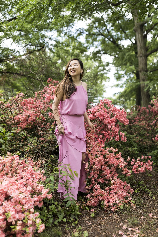 Dress:  Krisa ; Photo by  Ashley Gallerani .