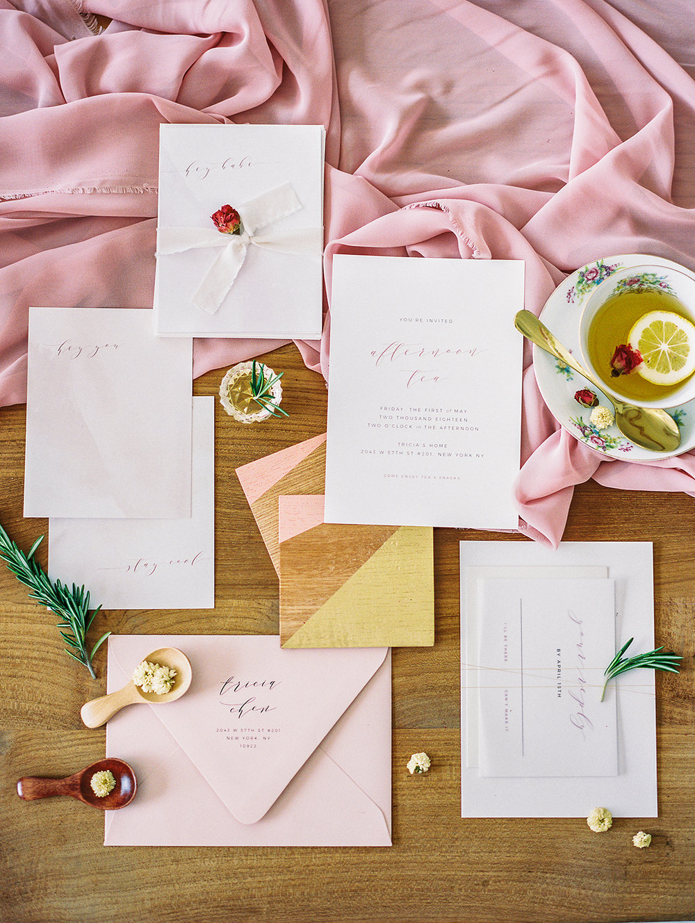 Invitations and paper designed by  Kelly Design Co .