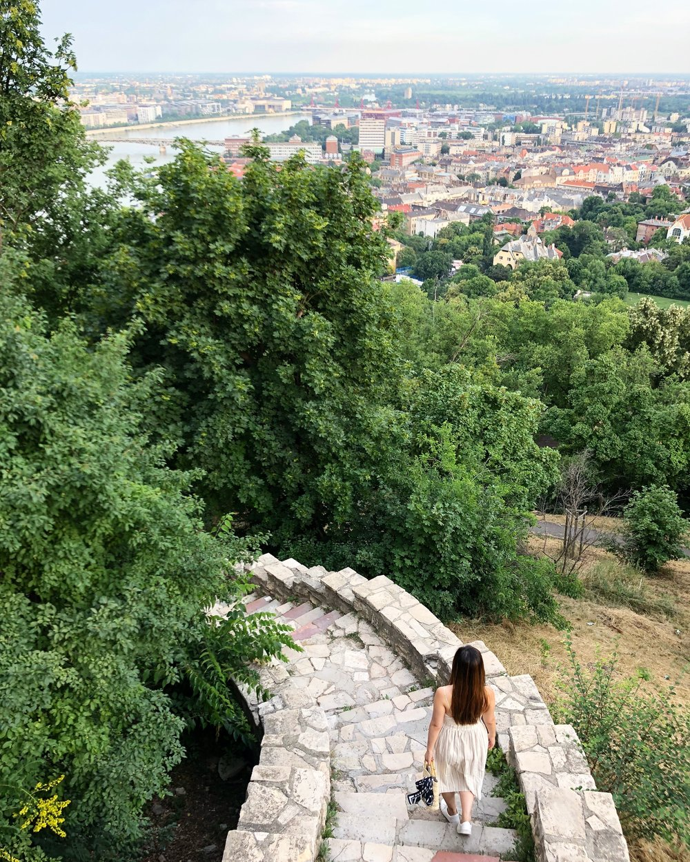 There is a bit of a hike up to the Citadella, but it's totally worth it!