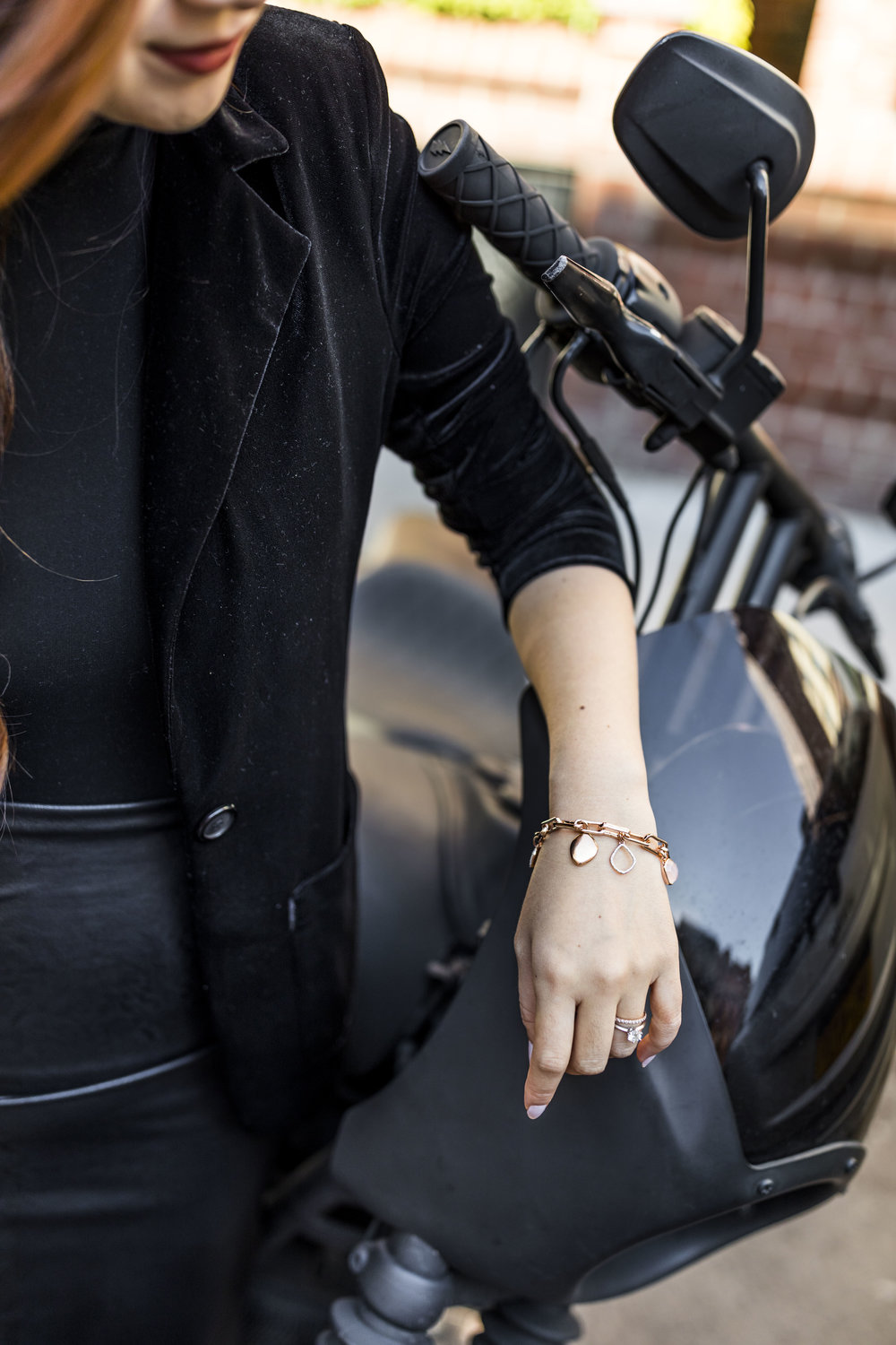 Personalize your bracelet with different pendants; photo by Ashley Gallerani.