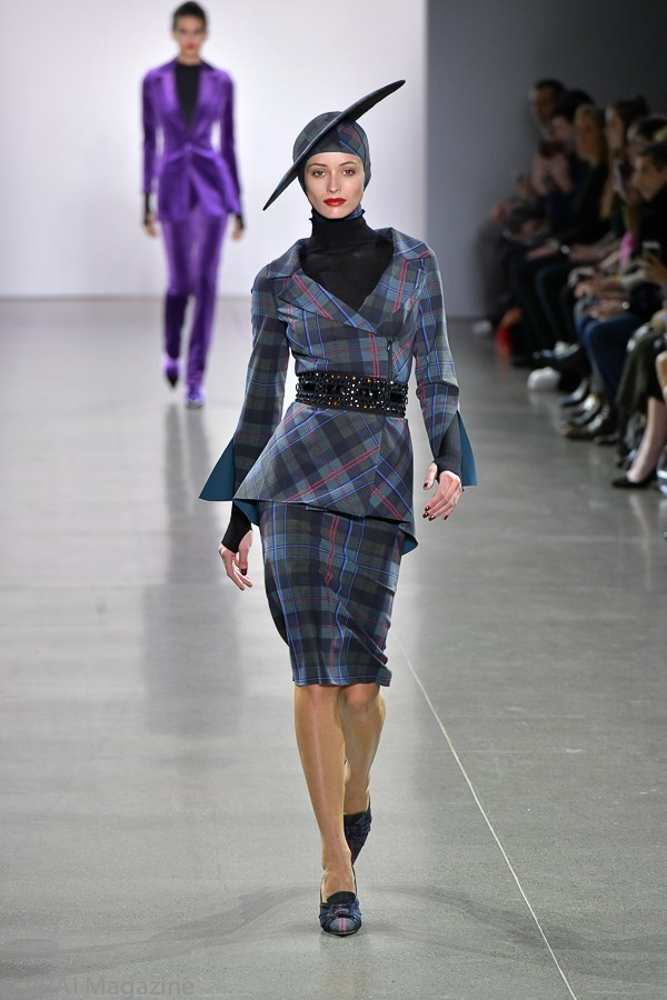 One of my favorite looks from the show. Photo credit:  VRAI Magazine