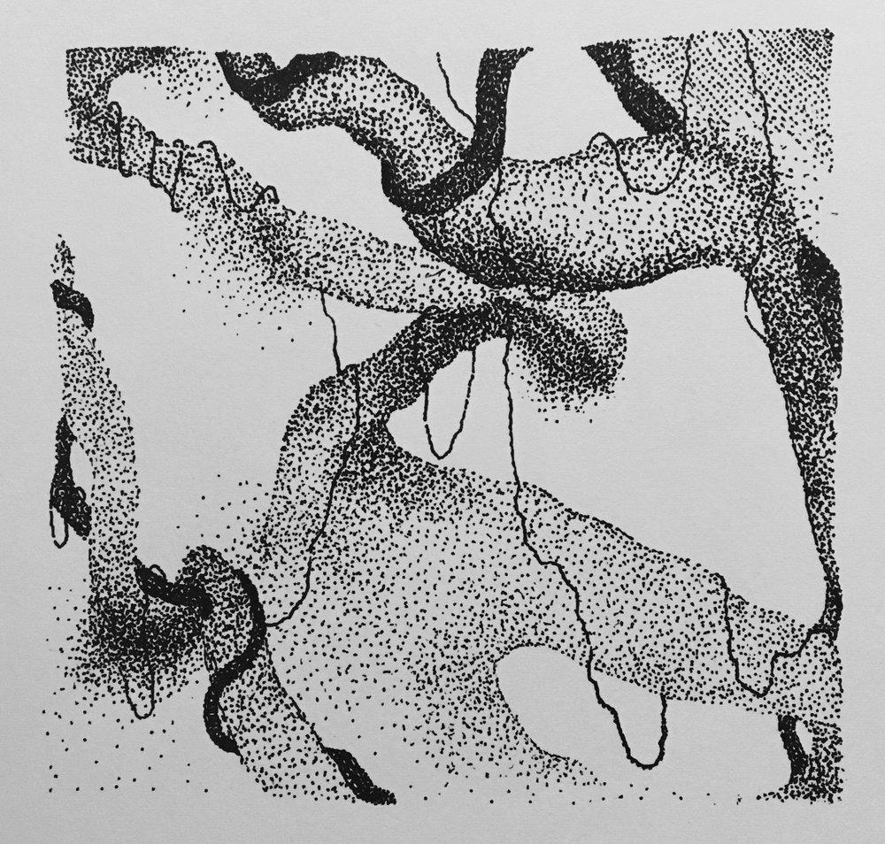 Ink Study II, 2017