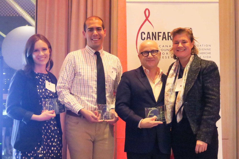 CANFAR Rising Star Award for Outstanding Volunteer Contribution, 2017