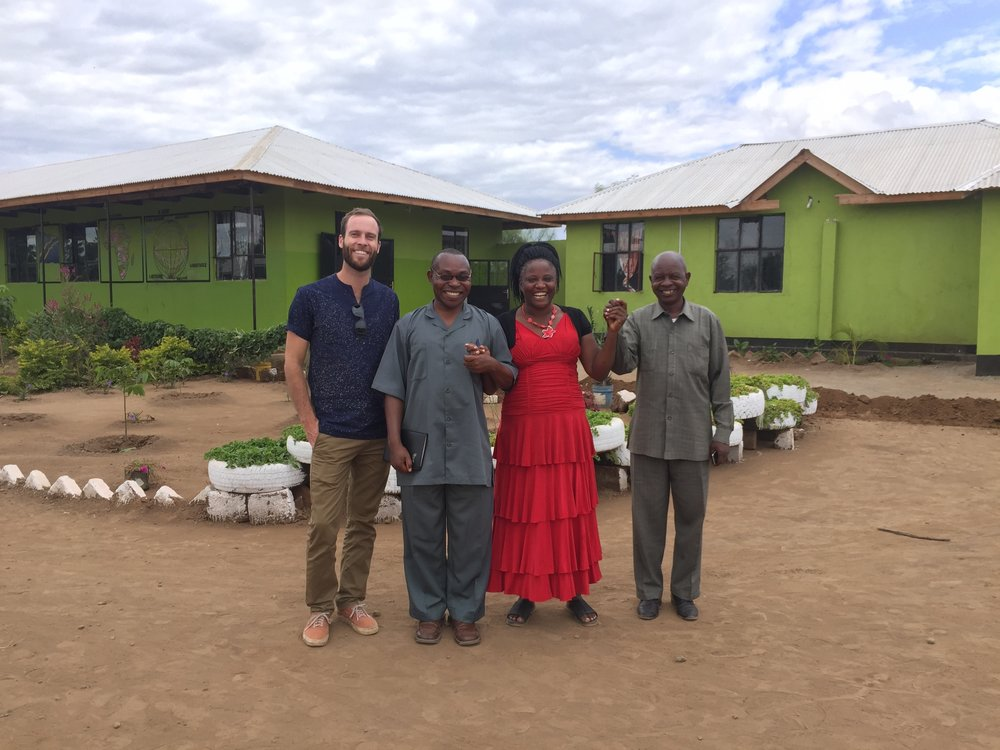 Toby revisits St. Timothy's School in Tanzania.
