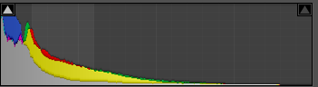 When your Histogram looks like this, your shot is more than likely underexposed