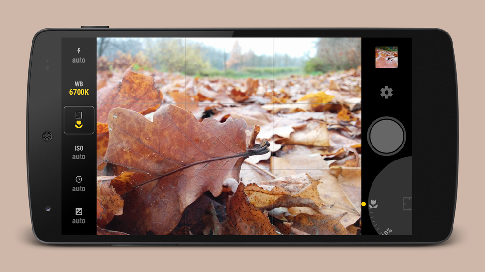 Photo from Product Description,  Manual Camera  for ANDROID