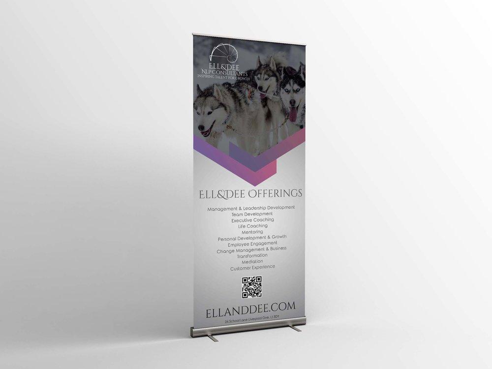 Ell&Dee Roller Banner
