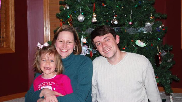 Our family in 2010, shortly after my self-diagnosis