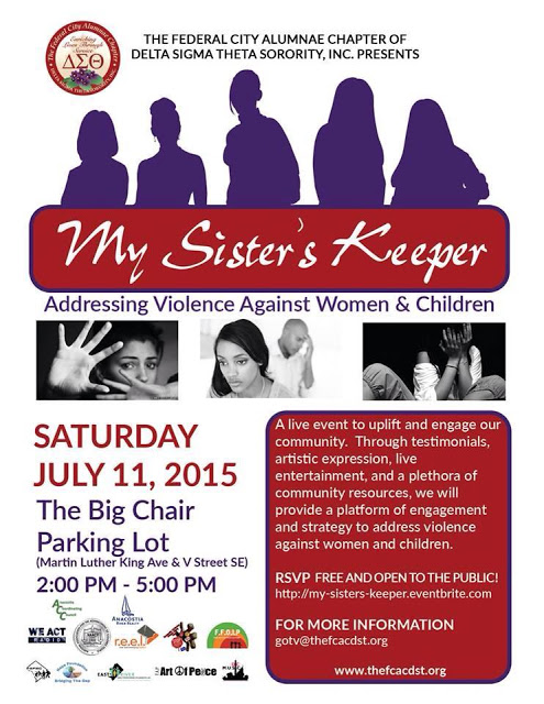 July 11 | My Sister's Keeper: Addressing Violence Against Women