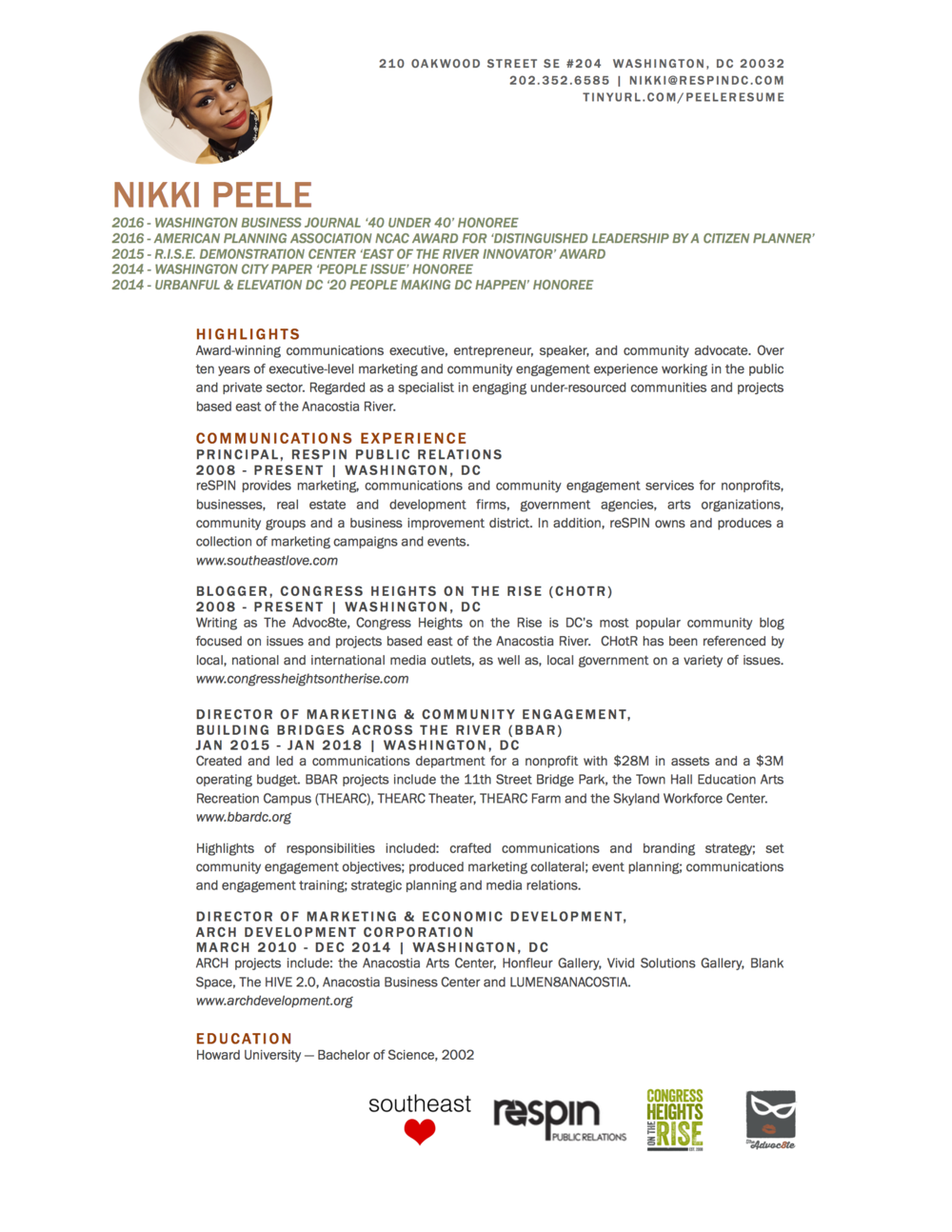 2018_NikkiPeele_CommunicationsResume_GREEN.pages.png