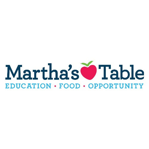 MARTHA'S TABLE   For over 37 years, Martha's Table has worked to support stronger children, stronger families, and stronger communities by increasing access to quality education programs, healthy food, and family supports. We believe that every child deserves the opportunity for their brightest future and a deeply engaged family and community committed to their success.