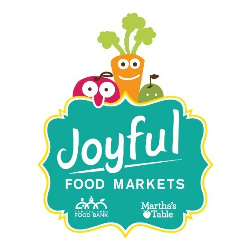 JOYFUL FOOD MARKET   In January 2015, Martha's Table, in partnership with the Capital Area Food Bank, launched Joyful Food Markets to increase access to and encourage consumption of fresh fruits and vegetables east of the Anacostia River. Joyful Food Markets are run exclusively in elementary schools in Wards 7 & 8.