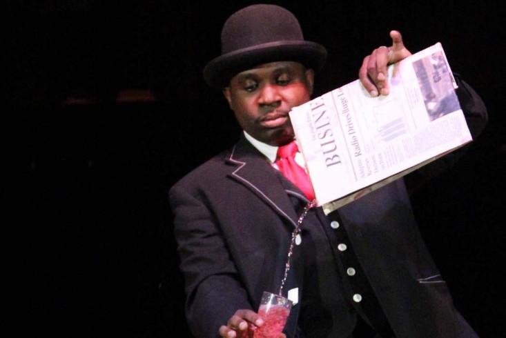 Jamahl Keyes, professional comedic magician