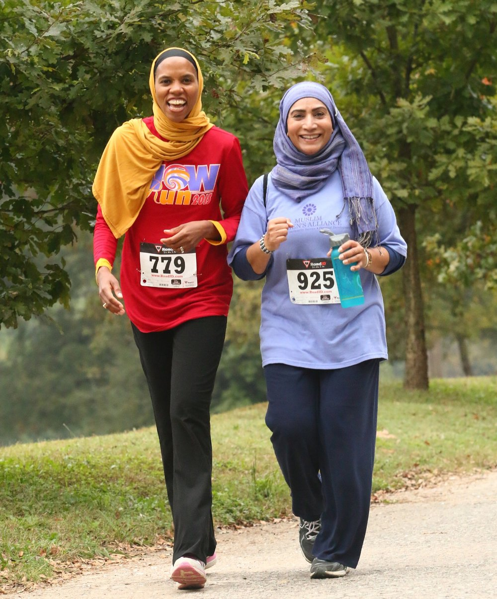 Muslimahs Endure Wow 5k Walk -