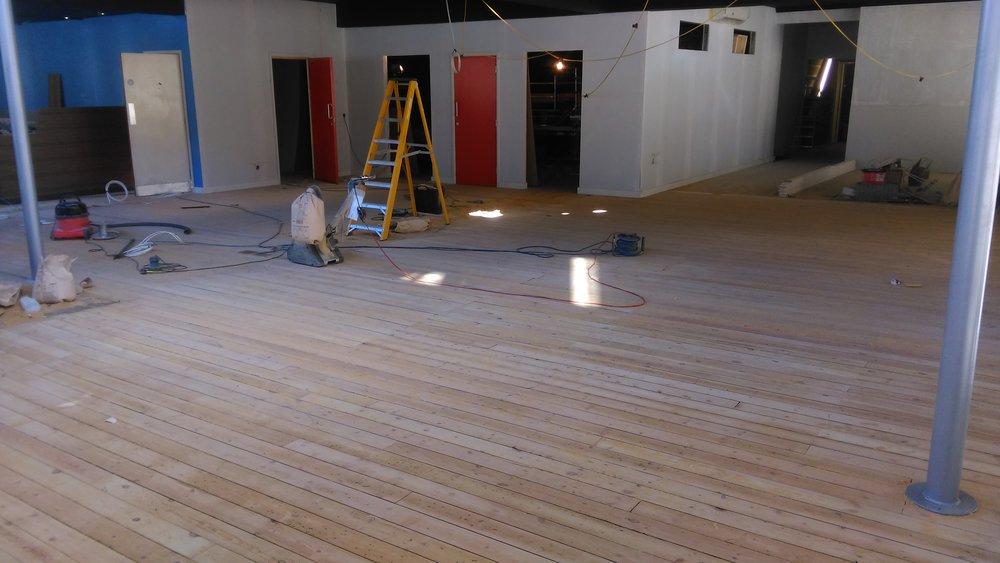 Copy of Copy of Floor after sanding