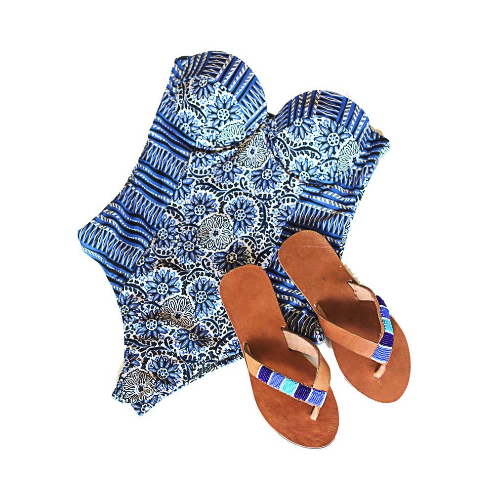 Blue Ribbon Sandals | $59