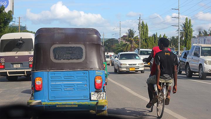 Bus - Bajaji - Bike