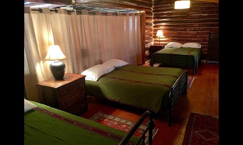 The semi-private room