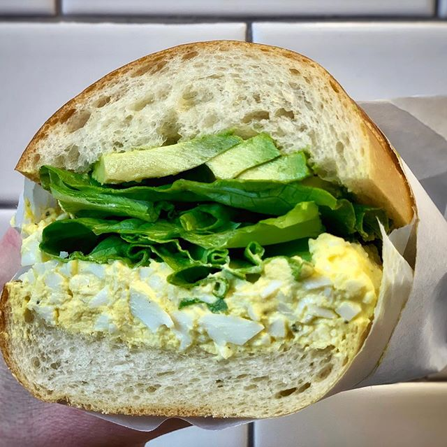 SPECIAL! It's back today, and every Friday through April, EGG SALAD. Get it in a sandwich, or in containers to-go.