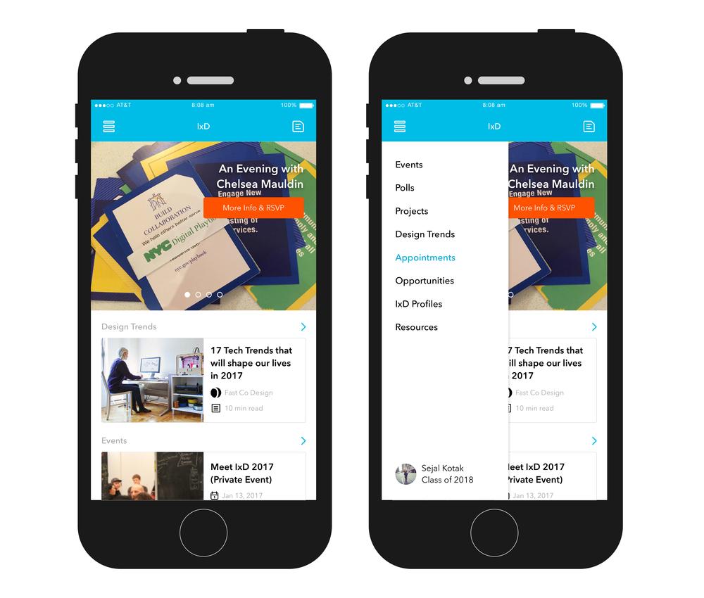 SVA, Interaction Design App (UX Design)