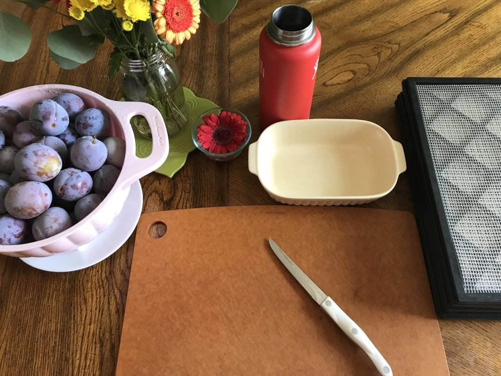 work_station_for_drying_plums