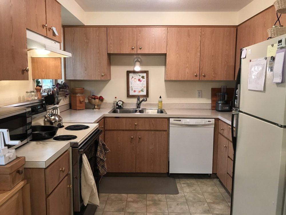 My dear little kitchen, home of Kitchen Wisdom