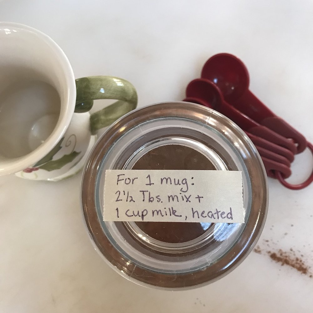 You can even label the jar with directions