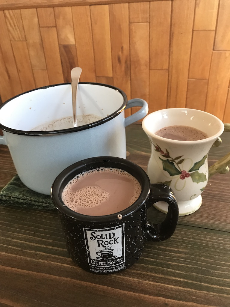 Wonderful, richly flavored hot cocoa from your own homemade mix