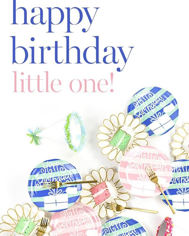 Create lasting memories with @cotoncolors birthday plates! Use this plate year to year to document each milestone. #cotoncolors  And of course available at the Gazebo💕