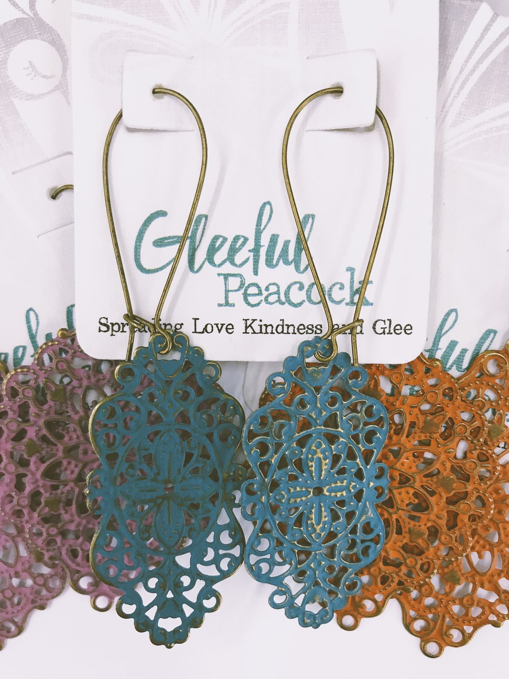 Gleeful Peacock - Necklaces & Earrings