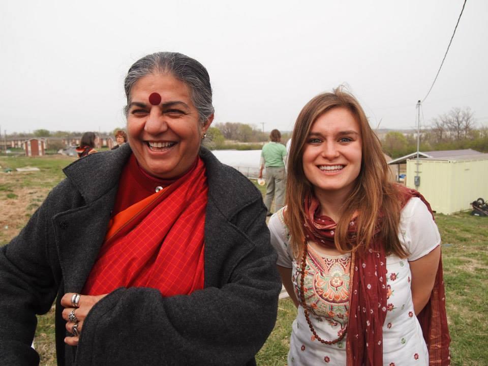 Vandana Shiva, Global Food Rights and Seed Saving Activist - Kansas City, Missouri, USA