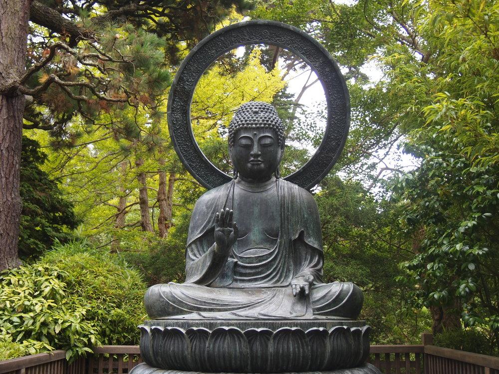 Japanese Tea Garden, Golden Gate Park, San Francisco, California, USA