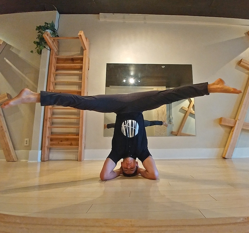 A full-time mover, Pax is always on his feet, hands, or upside down - leading a dynamic lifestyle....