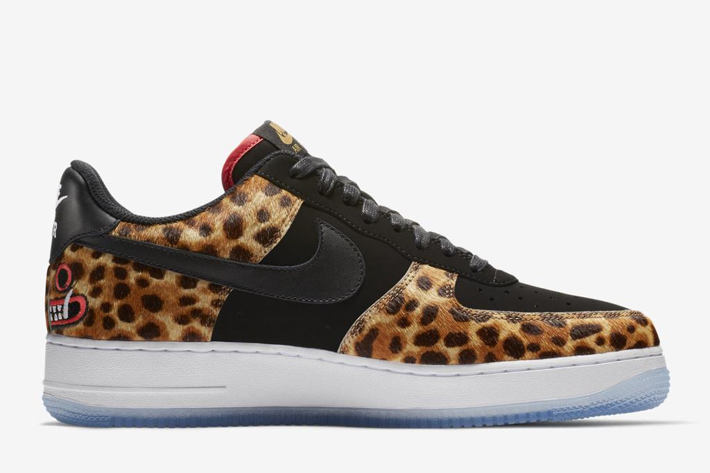 Nike Air Force 1 Low 'LHM Los Primeros' BlackBlack Multi