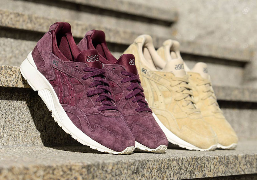 """opción Flotar salida  THE LATEST ASICS GEL LYTE V """"TONAL SUEDE"""" PACK RELEASE — iLL Sneakers