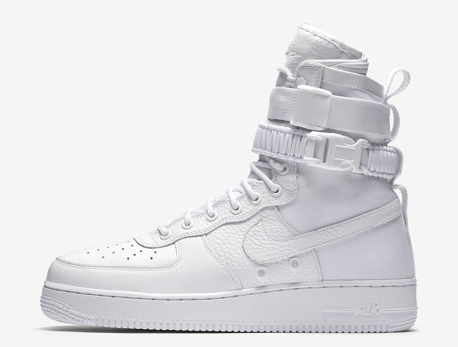 """Nike THE NIKE SF-AF1 IN """"TRIPLE WHITE"""