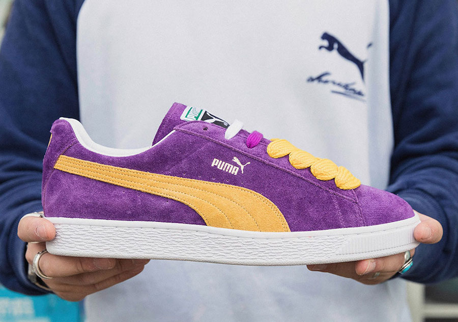 """PUMA SUEDE """"LAKERS"""" IS BACK AS PART OF THE COLLECTORS SERIES 298707dbf"""