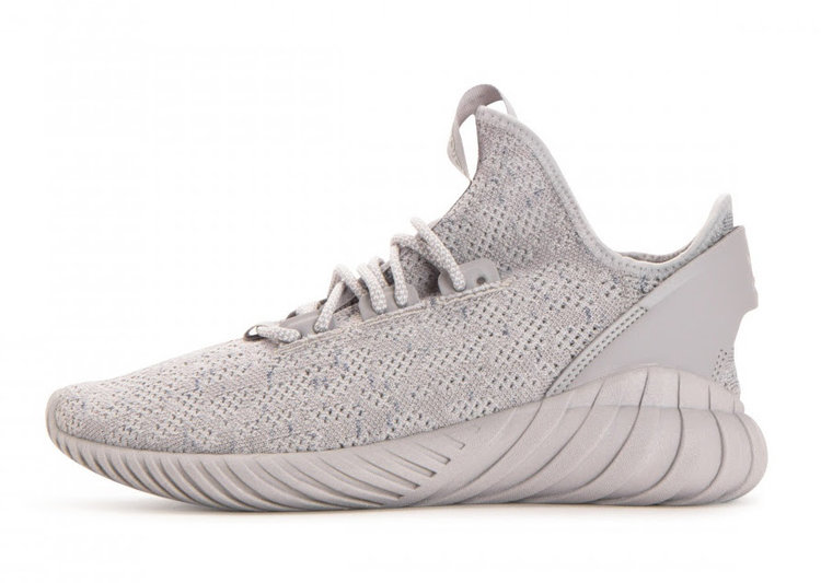 "huge discount 6596f e4390 This winter season, Adidas just drop the Tubular Doom Sock Primeknit in a "" Grey Two"" colorway."