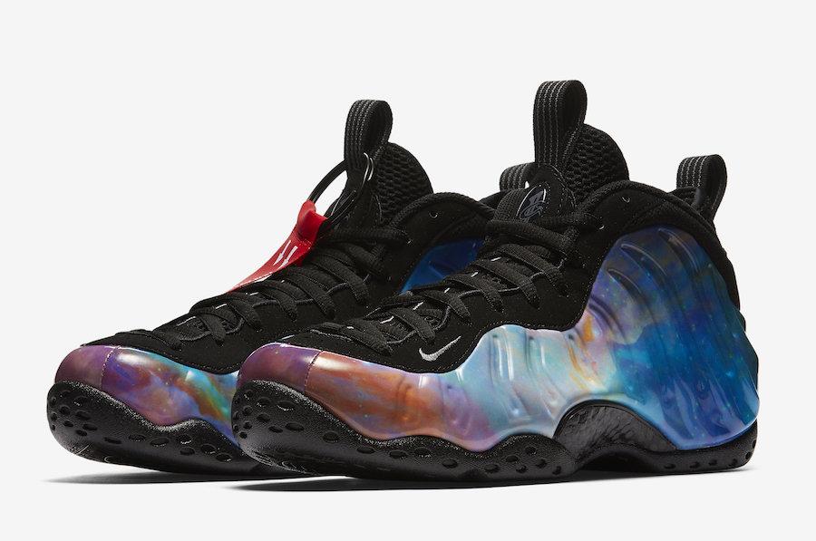 """diseñador derrochador Cercanamente  NIKE AIR FOAMPOSITE ONE """"ALTERNATE GALAXY"""" — iLL Sneakers  Certified for  Sneakerhead"""